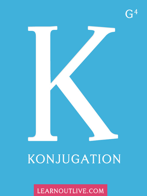 Good German Grammar Guide: Konjugation, an Introduction to Basic Verb Conjugation cover