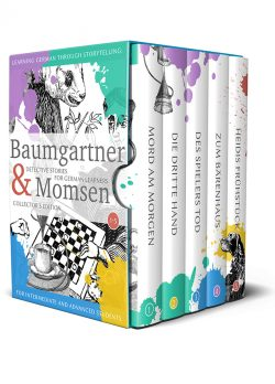 Learning German through Storytelling: Baumgartner & Momsen Detective Stories for German Learners, Collector's Edition 1-5