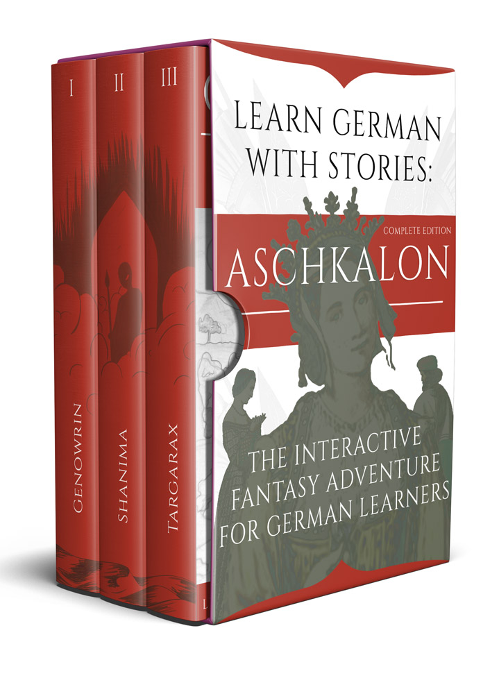 Learn German With Stories: Aschkalon (Complete Edition) – The Interactive Fantasy Adventure For German Learners cover